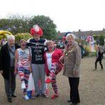 People having fun in Horden for the Queen's Diamond Jubilee
